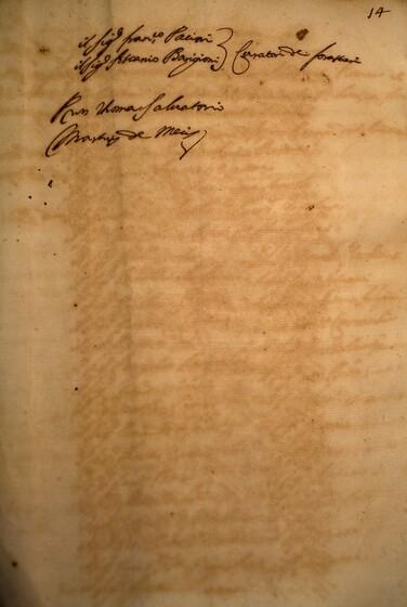 ASR, TNC, uff. 15, 1629, pt. 1, vol. 119, fol. 14r