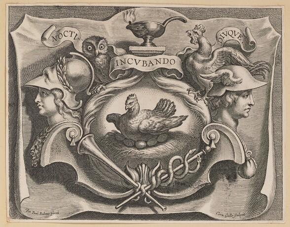 Vignette for the Title Page of Martinus Bonacina, Opera Omnia