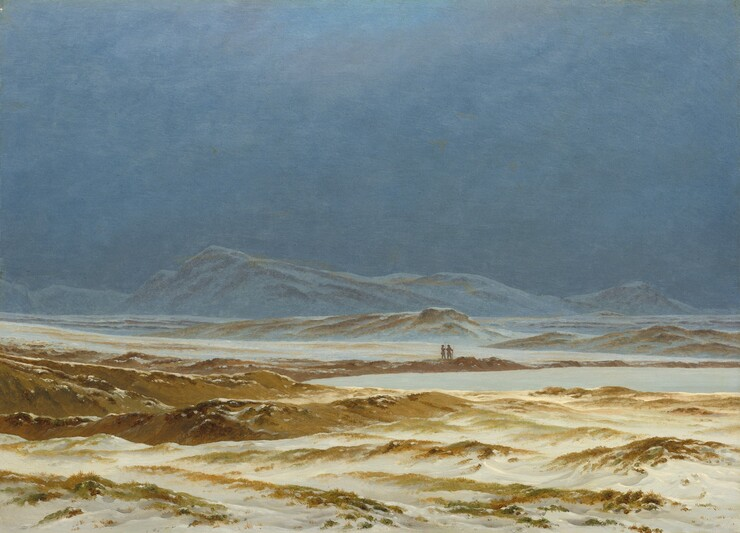 <p>Caspar David Friedrich, Northern Landscape, Spring, c. 1825