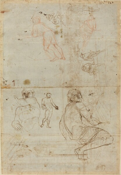 Figures from the Farnese Palace and from Life