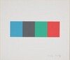 Blue Gray Green Red