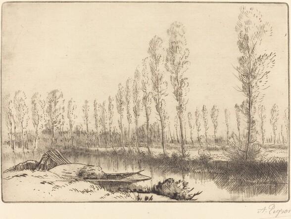Poplars near Amiens (Pres d