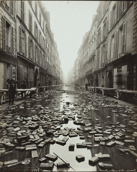 Paris Flood, rue Jacob