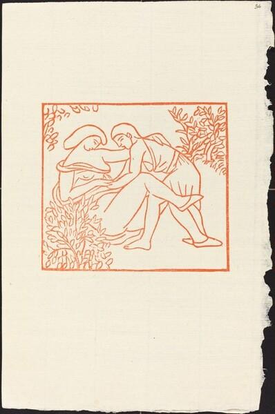 Third Book: Lycaenium Teaches Daphnis the Secret of Love (Lycenion donne une lecon d