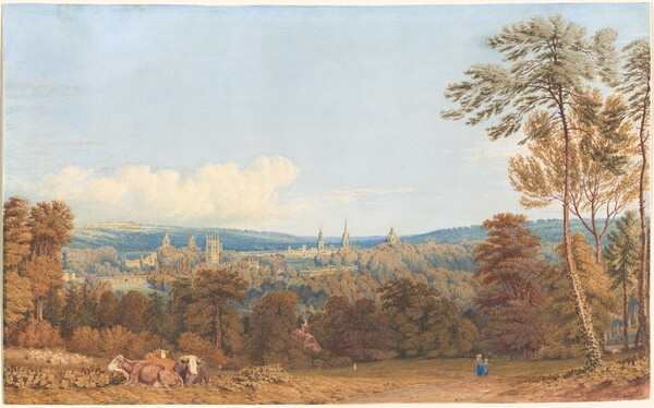 View of Oxford from Headington Hill
