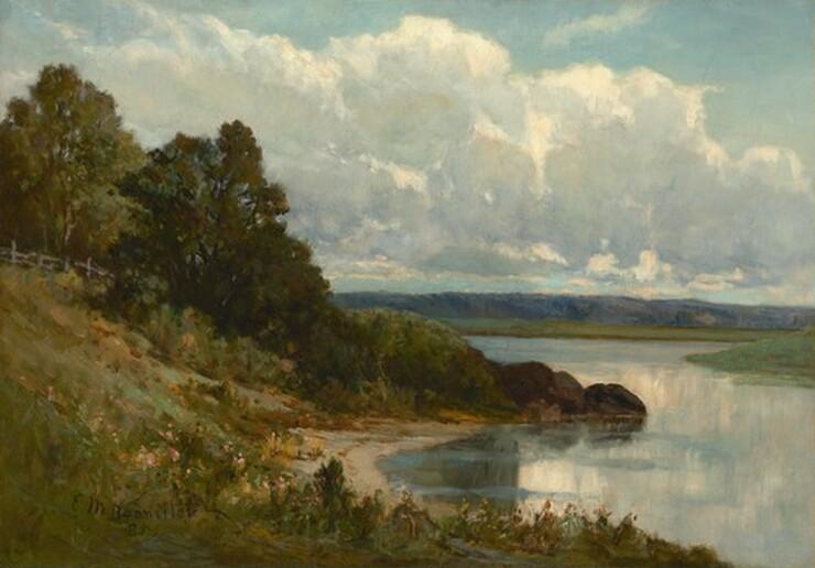 Edward Mitchell Bannister, Palmer River, 18851885