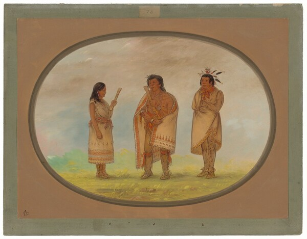 Three Potowotomie Indians