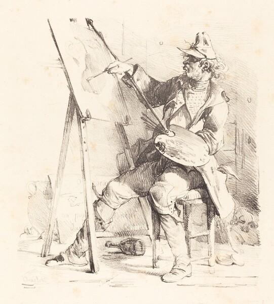 The Sign Painter (Le Peintre d