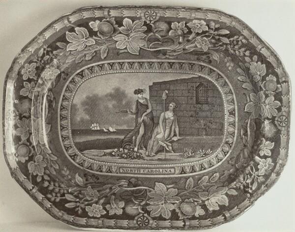 Platter - North Carolina Arms