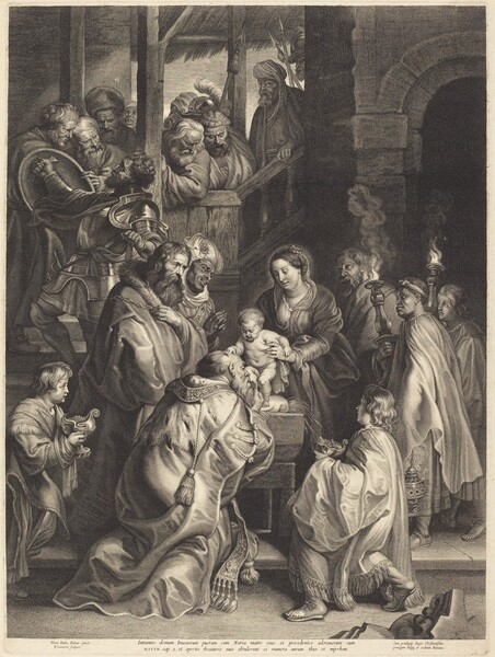 The Adoration of the Magi with Torches