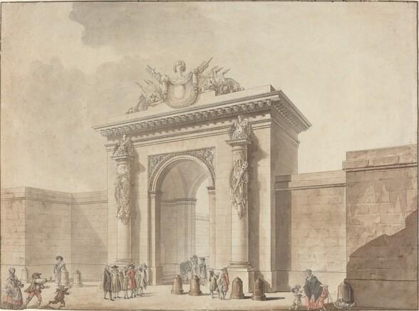 Portal of the Hôtel d