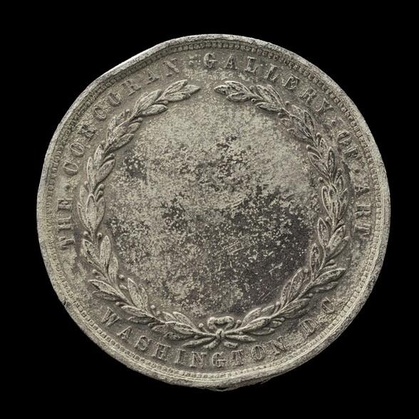 Die for Corcoran Gallery of Art Drawing Medal [reverse]