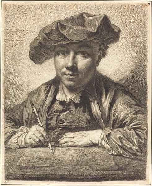 Self-Portrait, Drawing