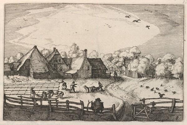 Blekerye aededuyne gelegen (Farms and Bleaching-Fields)