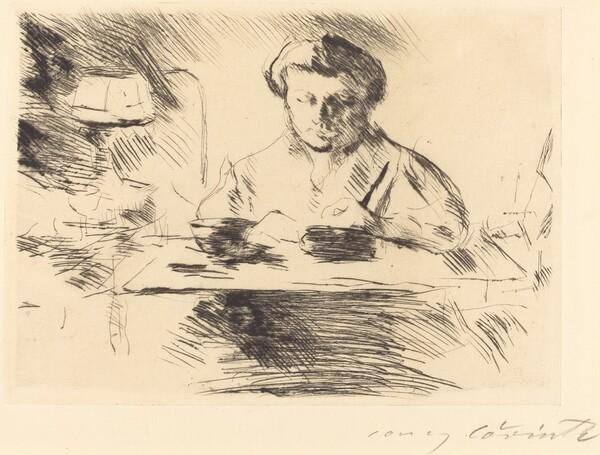 Die Gattin (Wife of the Artist)