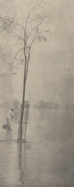 Spring Showers—The Street-Cleaner