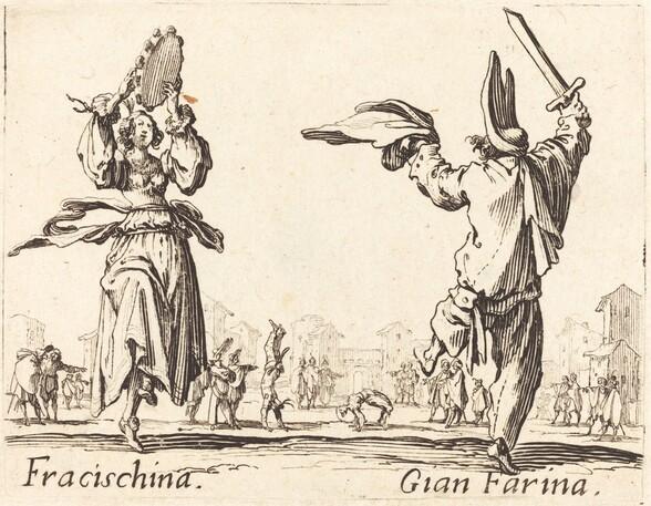 Fracischina and Gian Farina