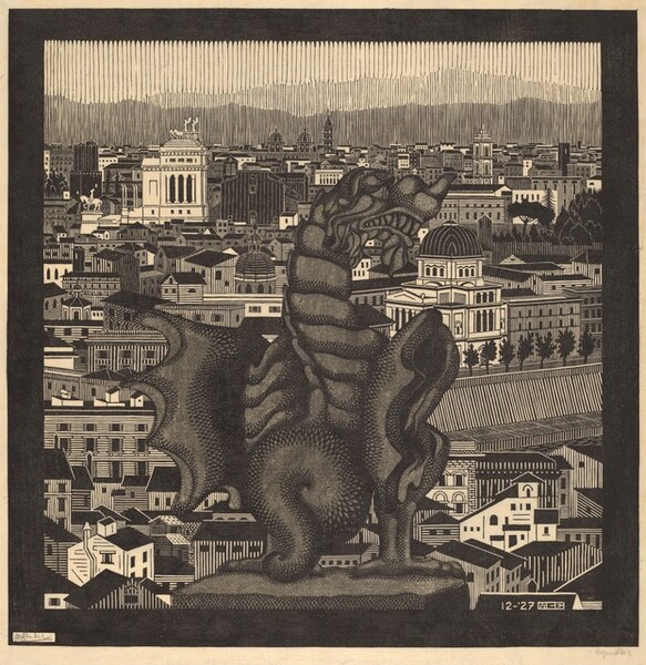 Rome and the Griffin of Borghese