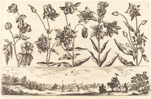 Flower Print no.6