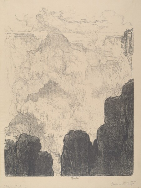 Mists in the Canyon, No.II