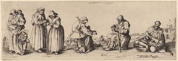 Six Men and Women Beggars
