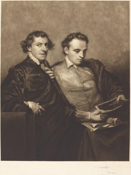 Portrait of Two Gentlemen