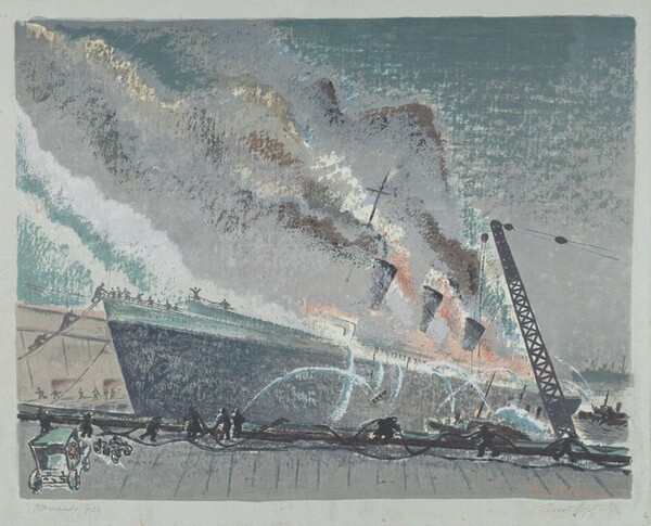 Normandy Fire