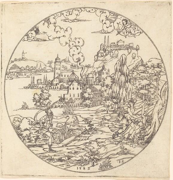 Neptune and Arethusa