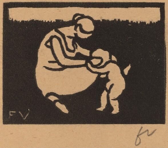Bather and Child (La baigneuse à l