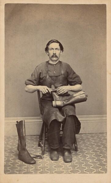 Portrait of a Bootmaker