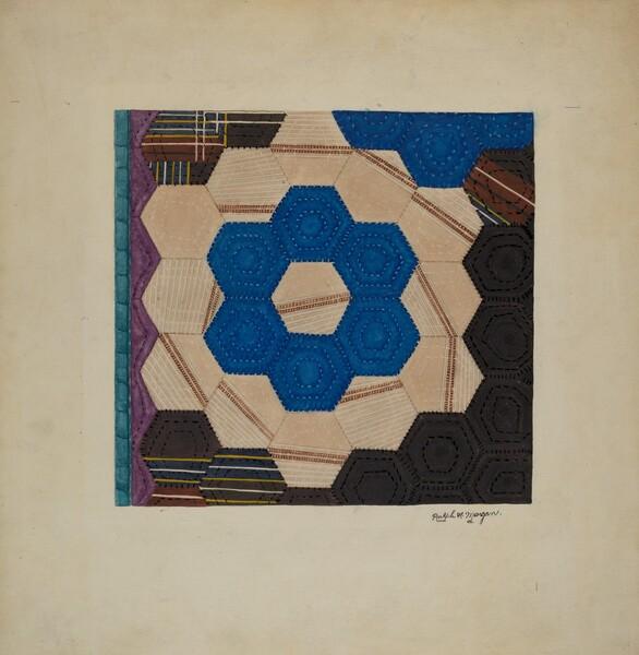Silk Quilt (Hexagonal Pattern)