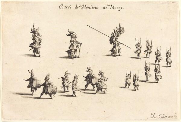 Entry of M. de Macey
