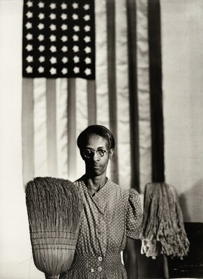 Gordon Parks, Washington, D.C. Government Charwoman (American Gothic), July 1942, printed laterJuly 1942, printed later