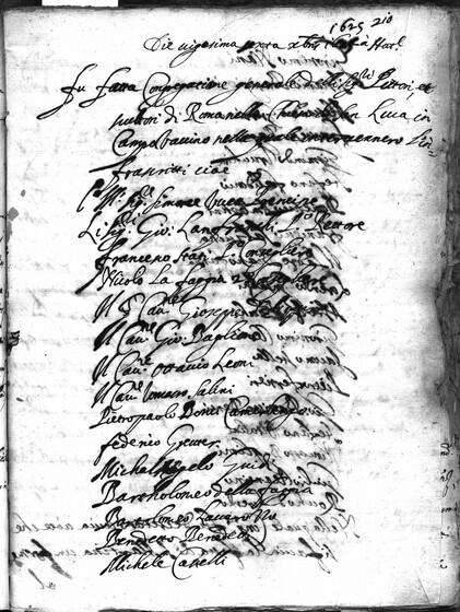 ASR, TNC, uff. 15, 1625, pt. 1, vol. 103, fol. 210r