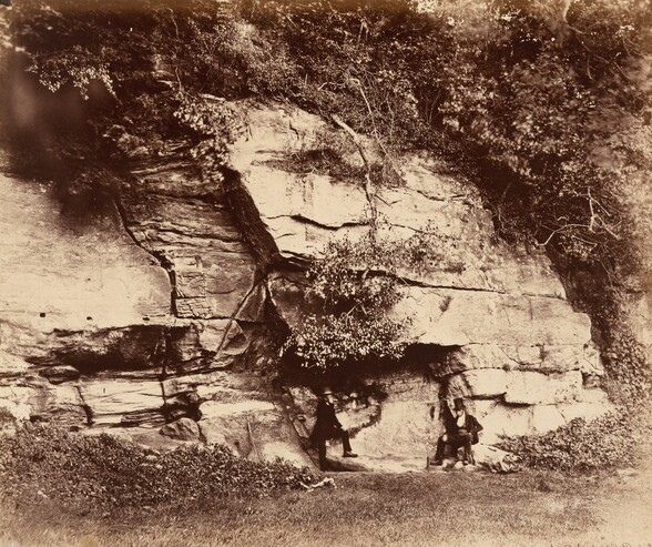 The Echo Rock, Fountains Abbey