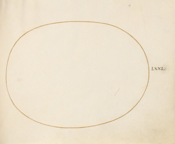 Plate 71: Empty Oval