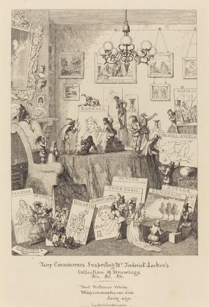 Fairy Connoisseurs Inspecting Mr. Frederick Locker