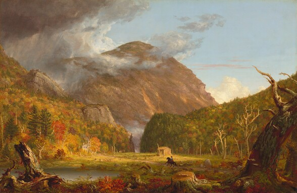 A View of the Mountain Pass Called the Notch of the White Mountains (Crawford Notch)