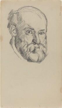 Paul Cézanne, Self-Portrait [recto], c. 1880/1882c. 1880/1882
