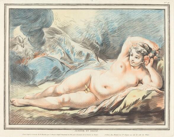 Jupiter and Danaë