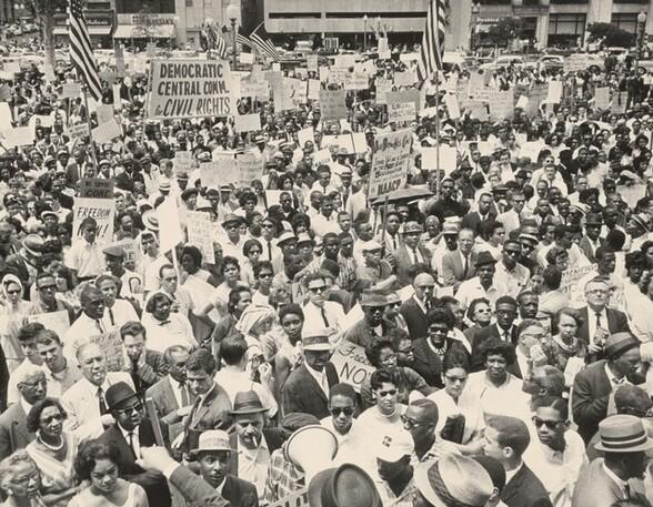 Civil Rights Demonstration for Fair Employment and Housing Legislation, Washington, D.C.