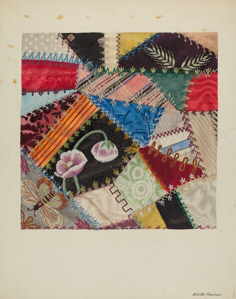 Patchwork Quilt (Section)