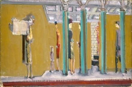Mark Rothko, Untitled (subway), c. 1937c. 1937