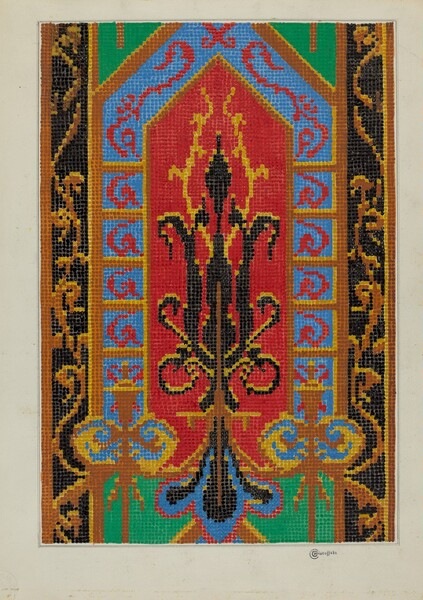 Needlepoint Tapestry
