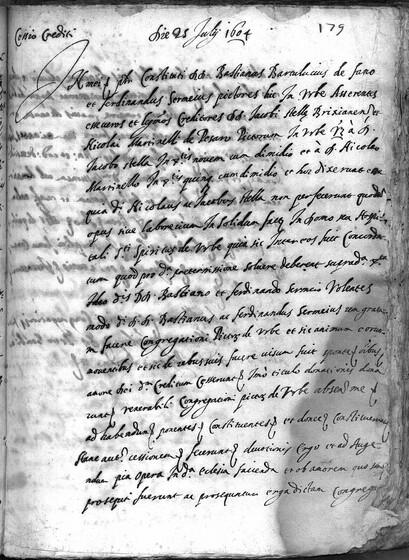 ASR, TNC, uff. 11, 1604, pt. 3, vol. 62, fol. 179r