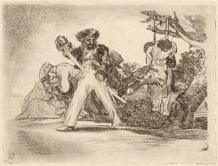 Francisco de Goya, Fuerte cosa es! (That's Tough!), 1810 / 18201810 / 1820
