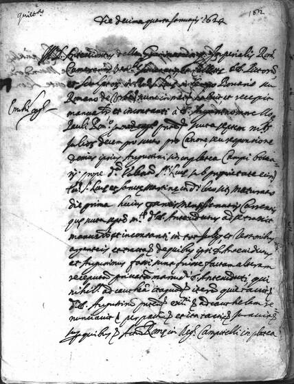 ASR, TNC, uff. 15, 1624, pt. 1, vol. 99, fol. 182r