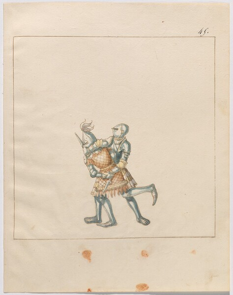 Freydal, The Book of Jousts and Tournament of Emperor Maximilian I: Combats on Foot (Jousts)(Volume III): Plate 171