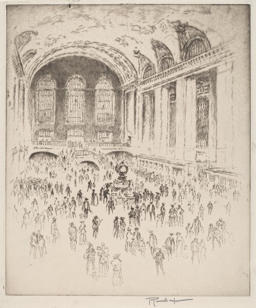 Concourse, Grand Central, New York