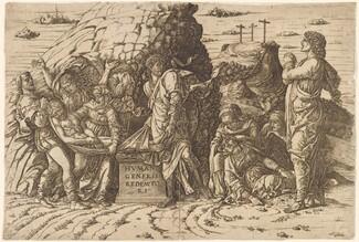 Andrea Mantegna, The Entombment, c. 1470/ 1475